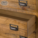 Industrial draftsman collection 6 drawer chest