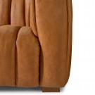Pulitzer sofa 3 5s leather cognac
