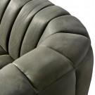 Pulitzer sofa 3 5s leather charcoal