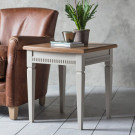 Bronte taupe side table
