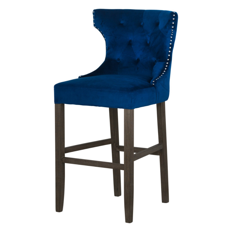 Modern navy bar stool