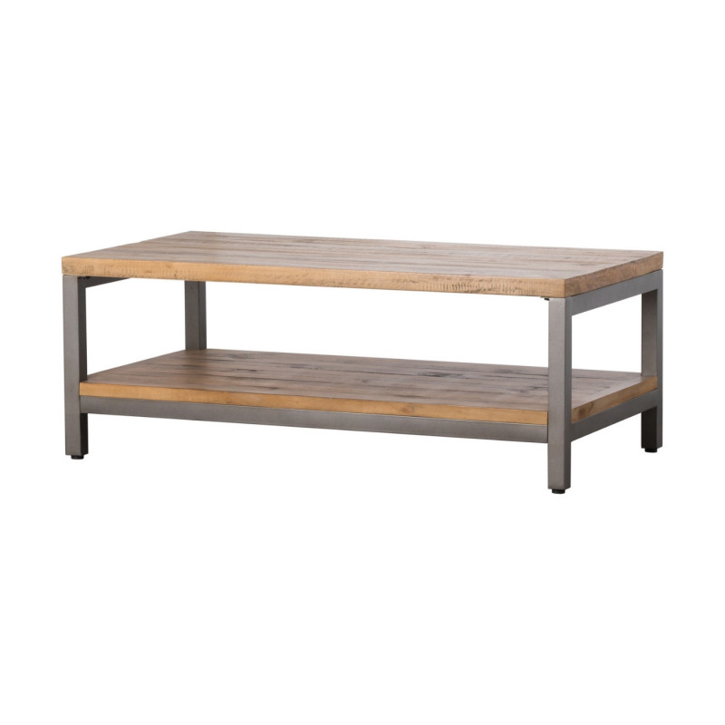 Industrial draftsman collection coffee table