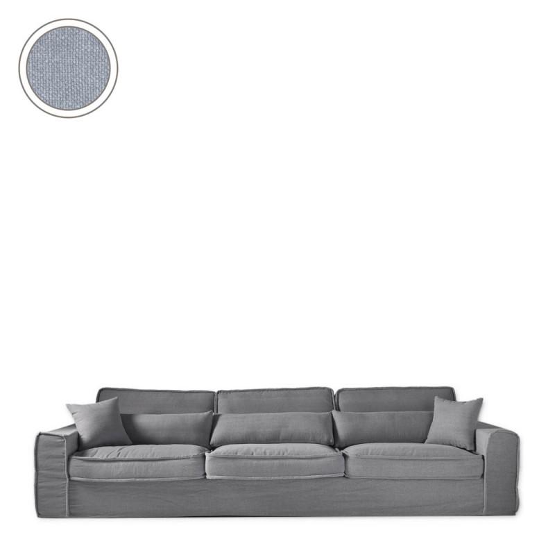 Metropolis sofa xl cotton ice blue