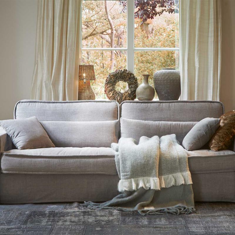 Metropolis sofa xl cotton mossgreen