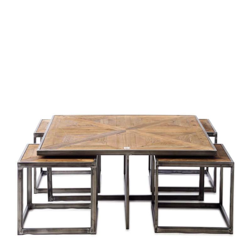 Le bar americain coffee table set 5