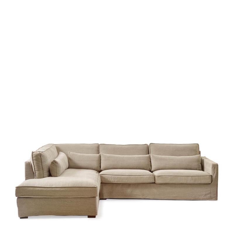 Brompton c corner sofa cl l cot nat