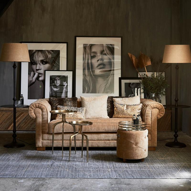Crescent avenue sofa 3s vel copper