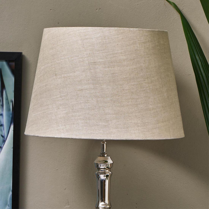 Loveable linen lampshade nat 35x45