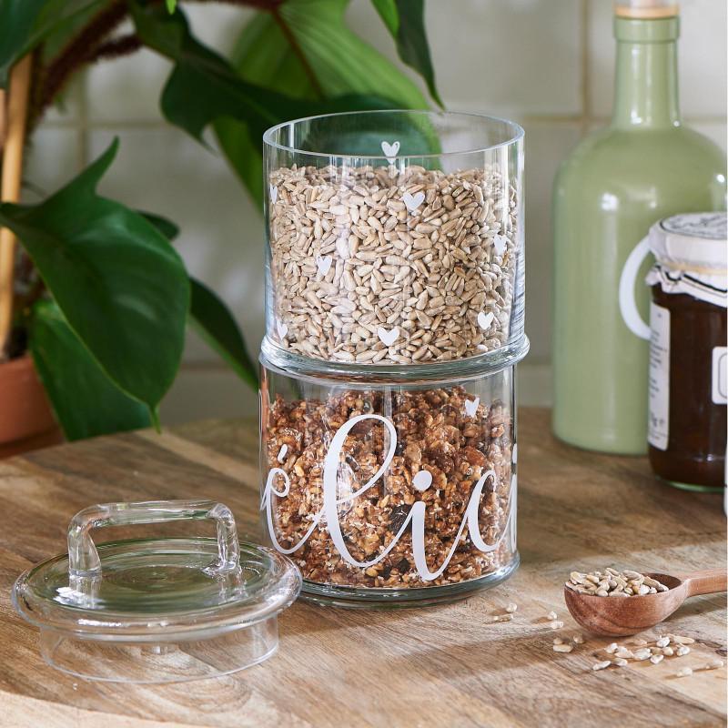 Delicieux storage jar 2 parts