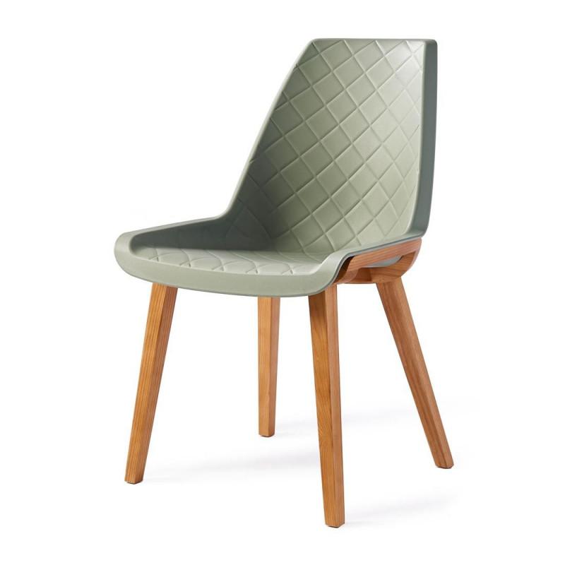 Amsterdam city dining chair soft green