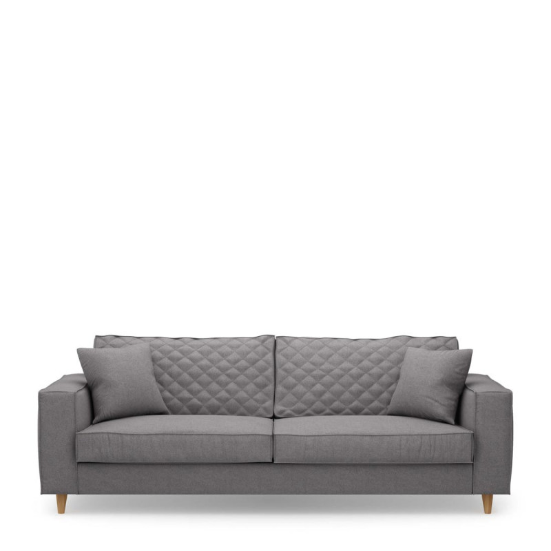 Kendall sofa 3 5 seater steelgr