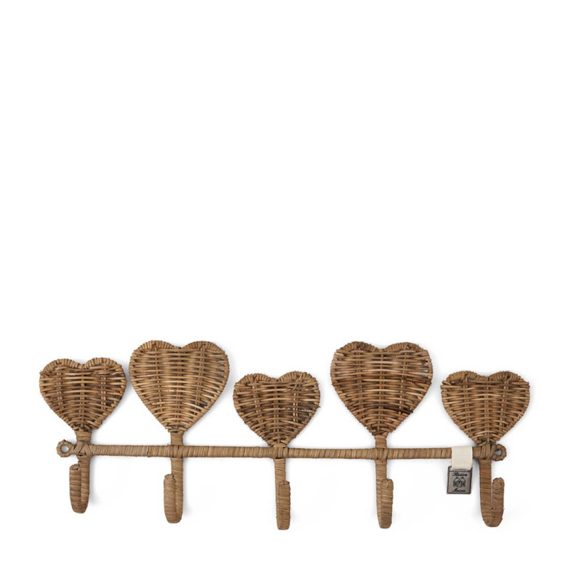 Rr pretty hearts coat rack