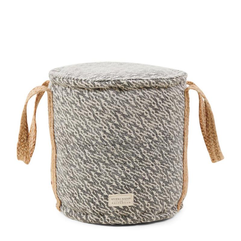 Le marais pouf 50x50 grey