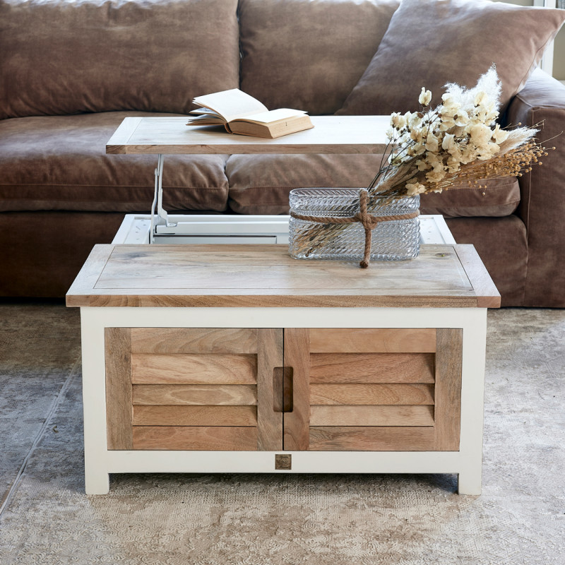 Pacifica coffee table 90x90