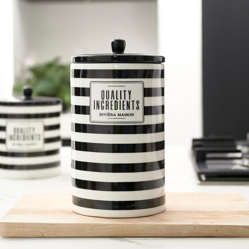 Rm ingredients storage jar m