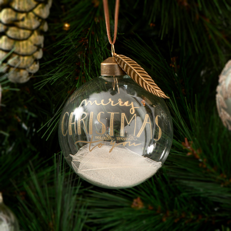 Wishing you ornament dia 8