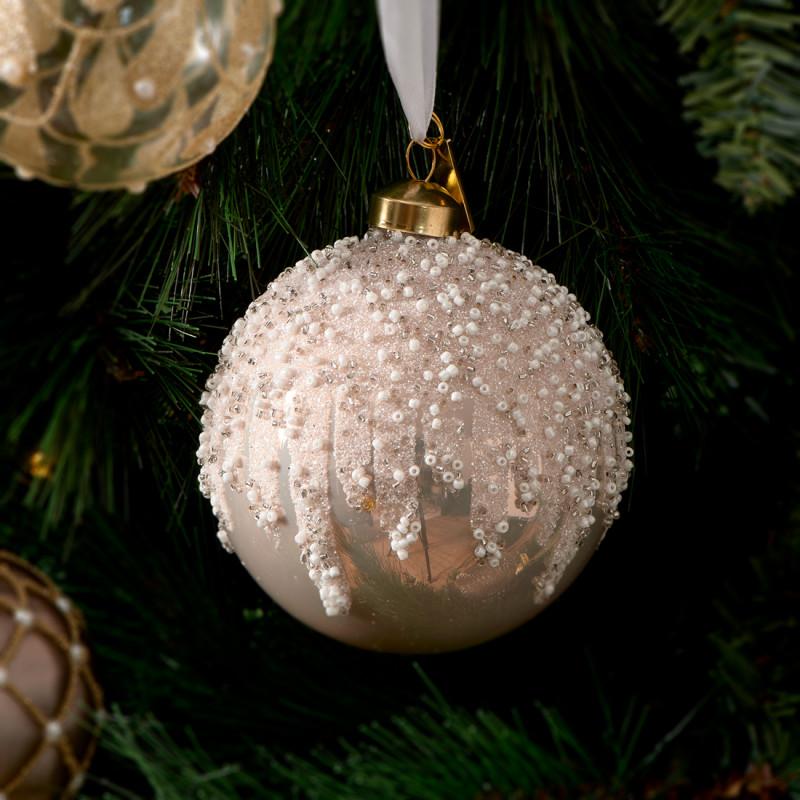 Glitter everywhere ornament dia 10