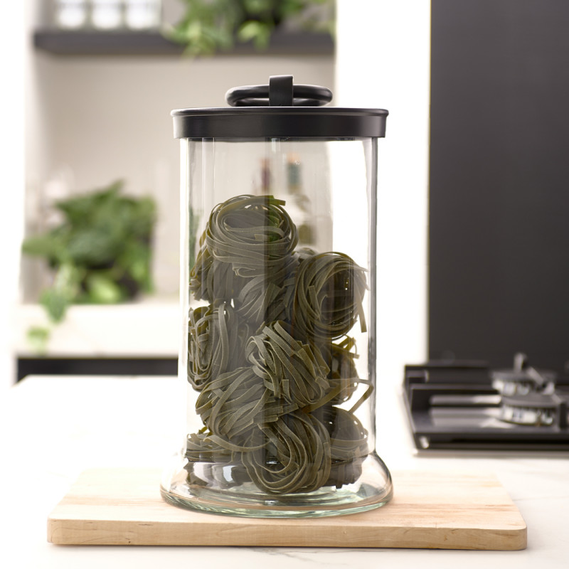 Cordoba storage jar black l