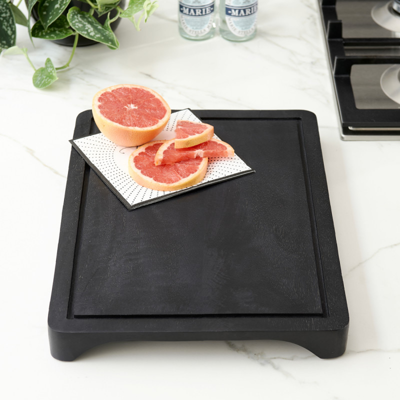 Concrete kitchen serving board