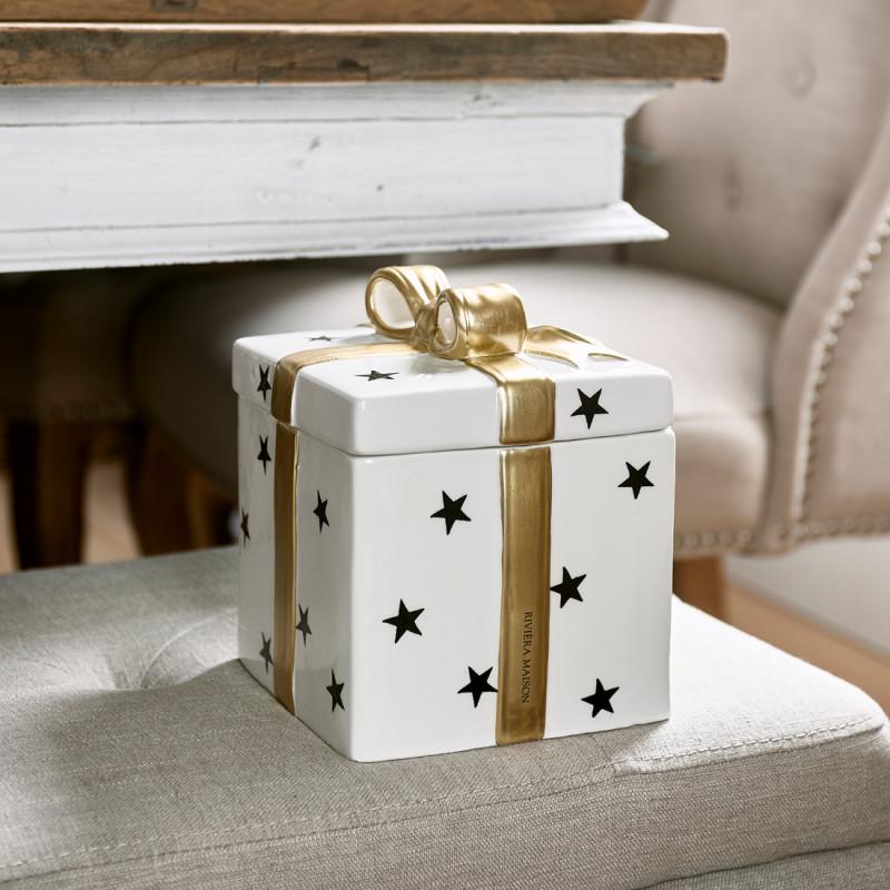 Christmas decoration box square