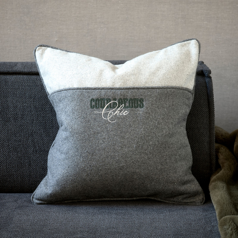 Courageous felt pillow cover 50x50