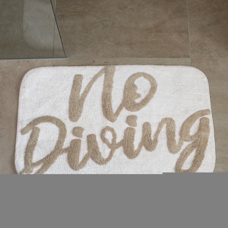 Bath mat no diving