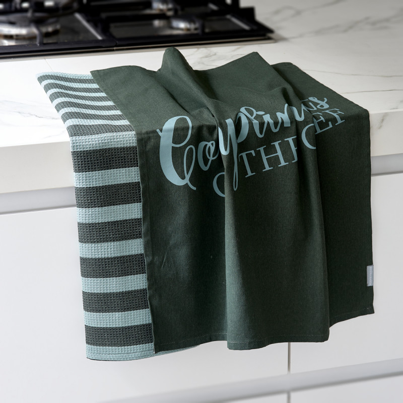 Compliments tea towel 2 pcs