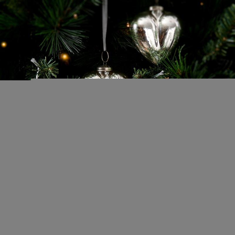 Merry christmas heart ornament 4pcs