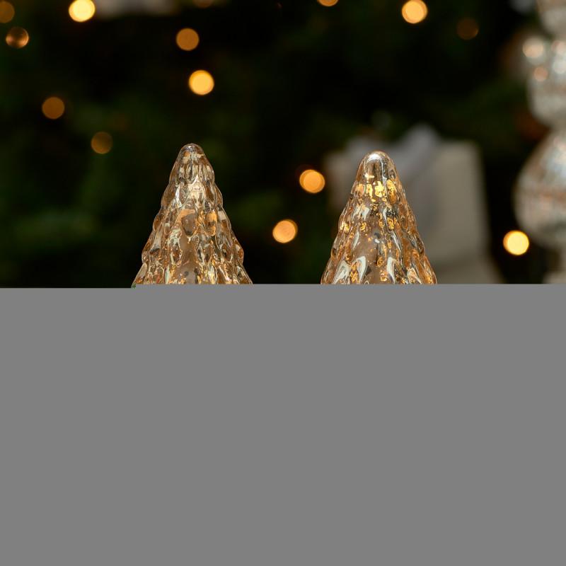 Love christmas deco trees 2pcs