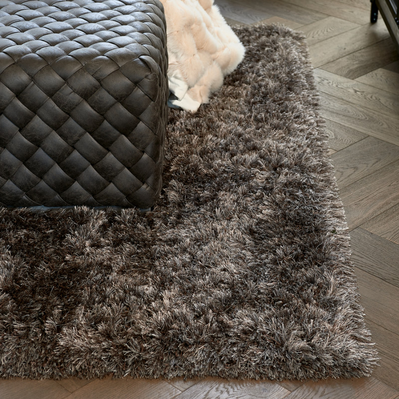 Cecil carpet black 230x160