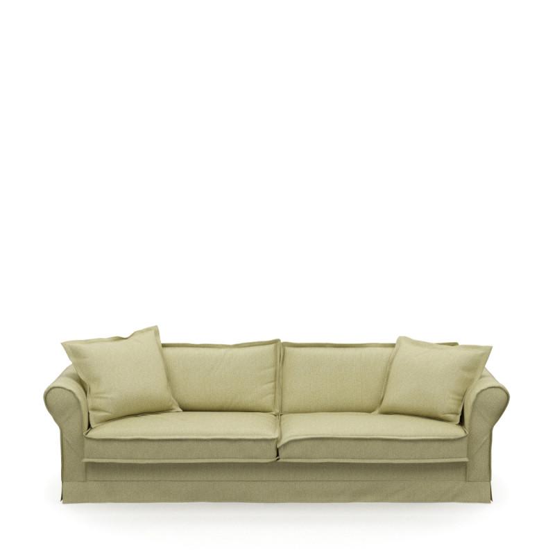 Carlton sofa 3 5s cotton moss green