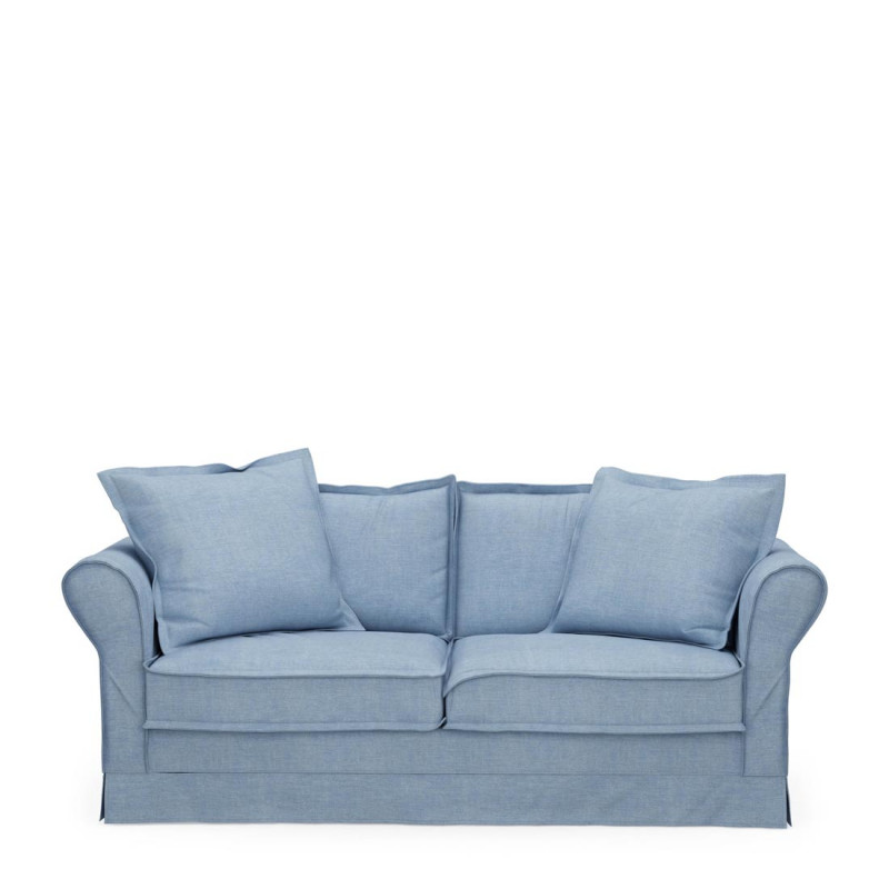 Carlton sofa 2 5s cotton ice blue