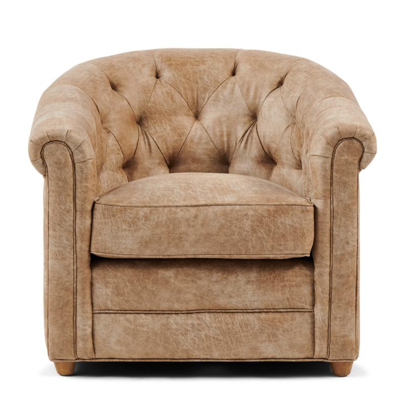 Grantham armchair pellini camel