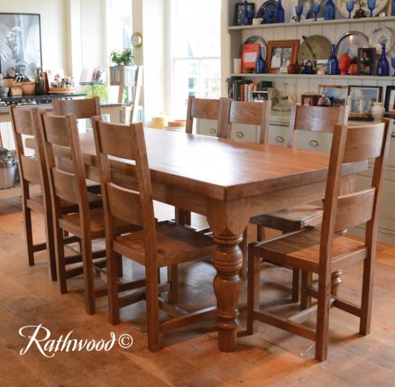 Warehouse clearance fitzwilliam farmhouse 7ft table