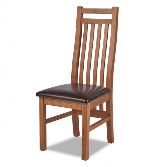 Warehouse clearance fitzwilliam slatted dining chair