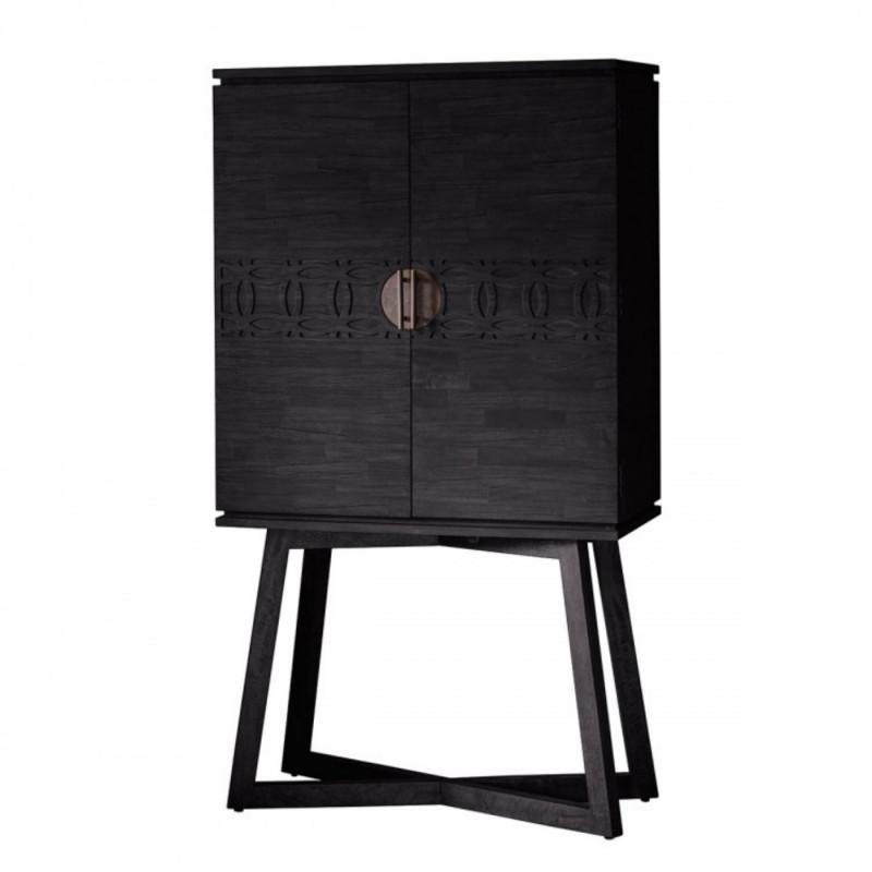Boho boutique cocktail cabinet