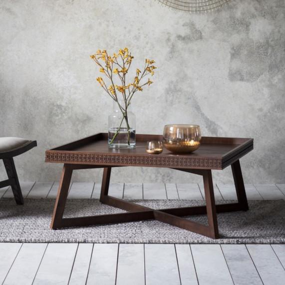 Boho retreat coffee table