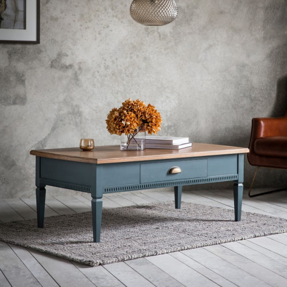 Bronte storm 1 drawer coffee table