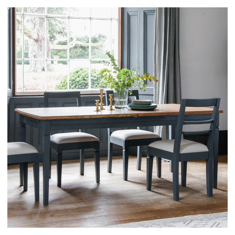 Bronte storm 6ft extending dining table