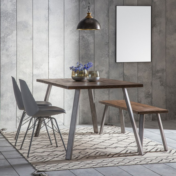 Rustic camden 5ft dining table