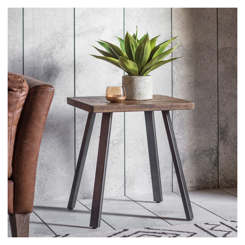 Rustic camden side table