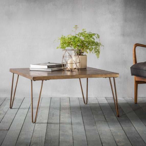 Urban metallic coffee table