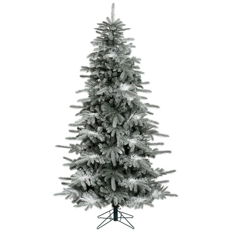 7ft premium white spruce artificial christmas tree