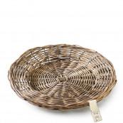 Rustic rattan plate 30cm