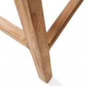 Rustic rattan bar stool