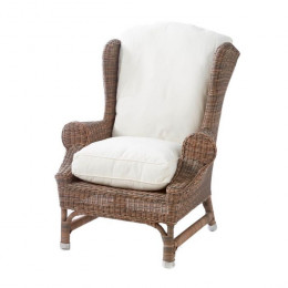 Outdoor rustic rattan nic w chair
