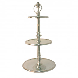Berkeley glass cake stand 3 levels