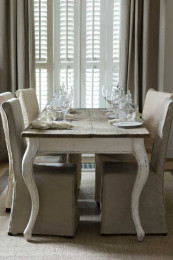 Driftwood dining table 180x90 cm