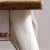 Driftwood dining table extendable 180 280x90 cm