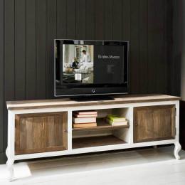 Driftwood flatscreen sidetable 180